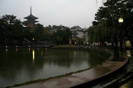 ساروساوايكيه يوشيدايا: Ryokan al final del lago 