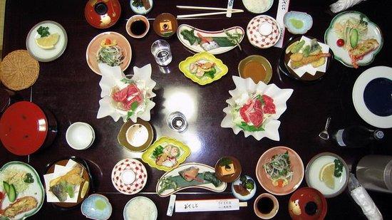 Sarusawaike Yoshidaya: Cena para dos