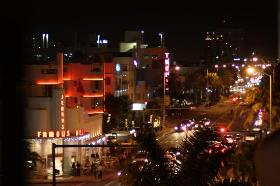 The President Hotel - Miami Beach: View from the balcony