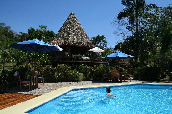Playa San Miguel, Costa Rica: The pool