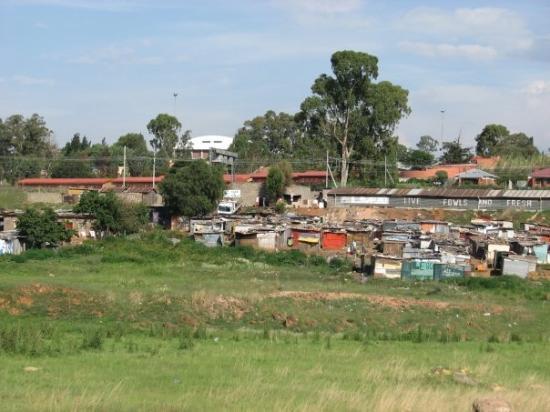 Johannesburg, Sør-Afrika: shack town
