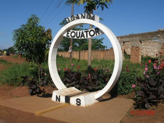 Kampala, Uganda: What an awesome adventure to stand with one foot in the northern hemisphere and one foot on the