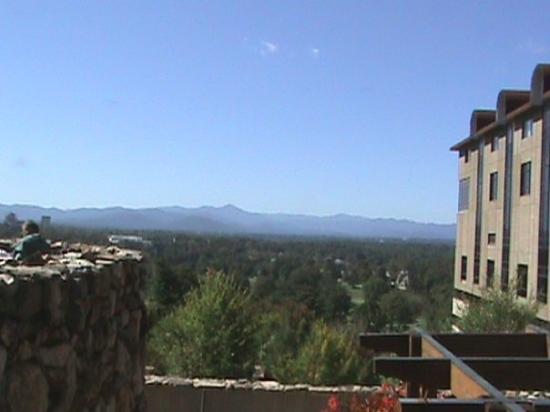 The Omni Grove Park Inn Spa: views from the grove park inn, resort