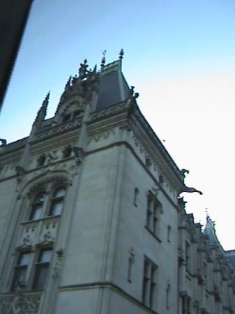 Biltmore: the house is so large i have to take multi pics just to get it all
