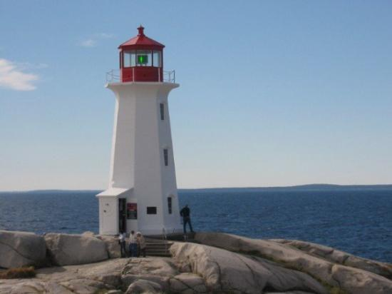 Peggy's Cove Lighthouse in Margaret's Bay. I'm told this is the most visited lighthouse in Nova