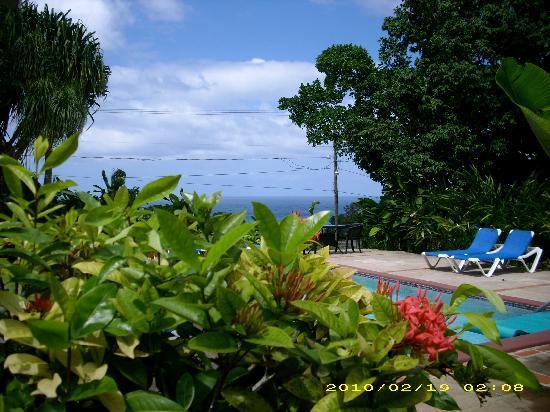 Sandals Ochi Beach Resort: view from our villa