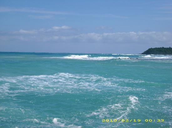 Sandals Ochi Beach Resort: the ocean