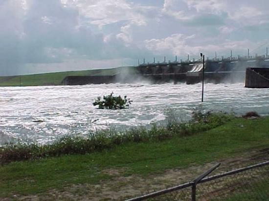 Livingston (TX) United States  City new picture : Lake Livingston,Tx,Dam Picture of Livingston, Texas TripAdvisor
