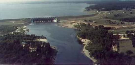 Lake Livingston,Tx,Dam