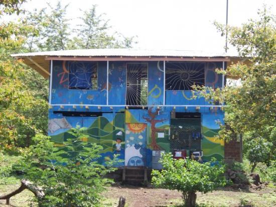 Isla de Ometepe, Nikaragua: community center