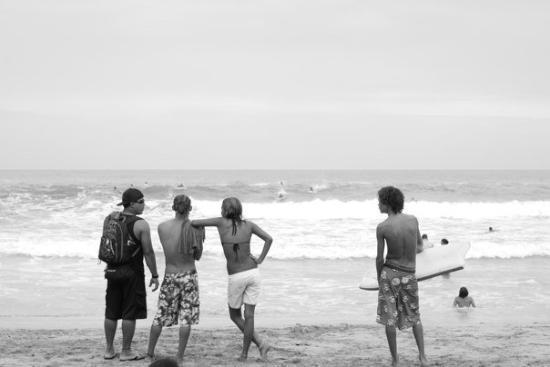 Puerto Limon, Costa Rica: local surfers