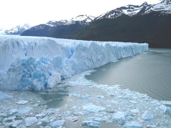 El Calafate, Argentina: The Perito Moreno glacier in Patagonia may be the the best place to seeing calving icebergs in t