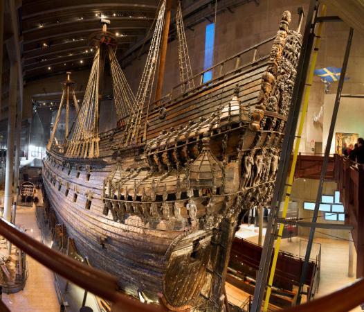 Vasa Museum: Vaza (laivas), Švedija