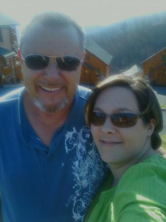 Elmwood, TN: Me and my hubby in the mnts
