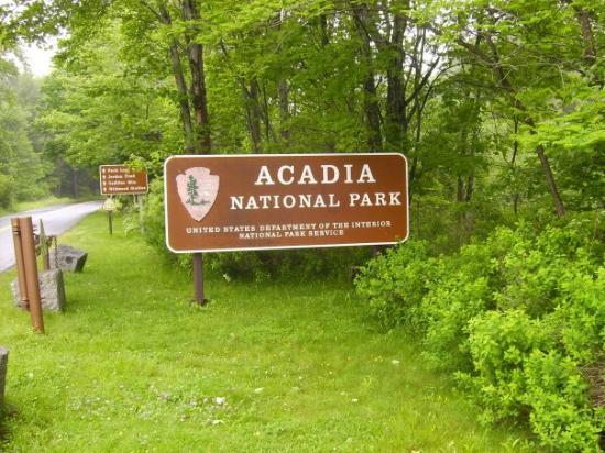 Bar Harbor, ME: Acadia National Park...