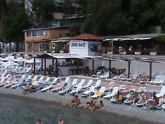 Hotel Pension Massandra : Massandra Beach.  Yalta