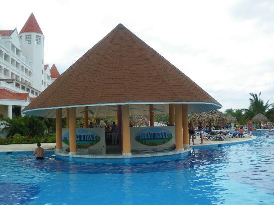 Grand Bahia Principe Jamaica: One of the swim up bars