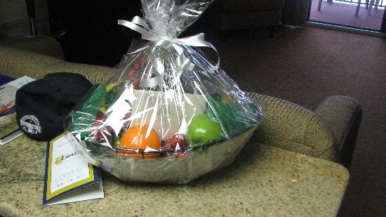 The Caravelle Resort: Welcome Basket