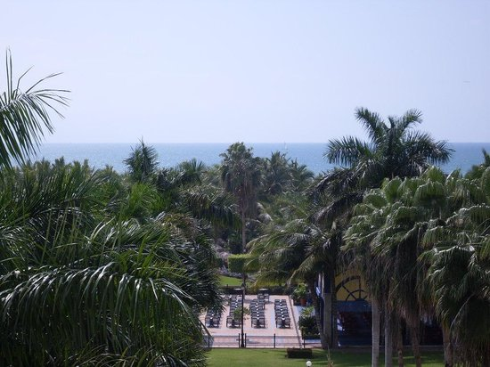 ClubHotel Riu Jalisco: View from our room on the 5th floor