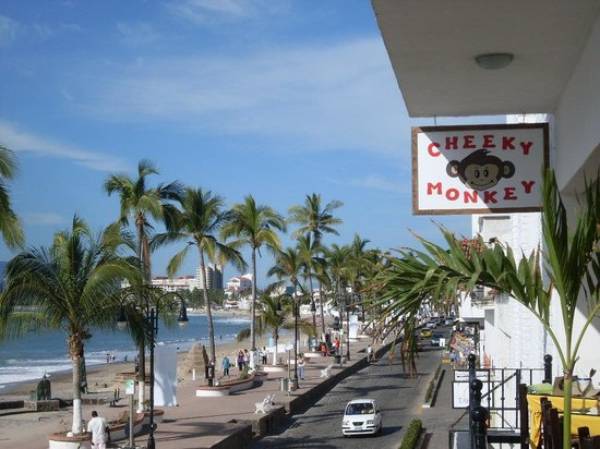 Hotel Riu Jalisco: The Malecon in Puerto Vallarta