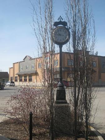 The Clock at Black Diamond Alberta