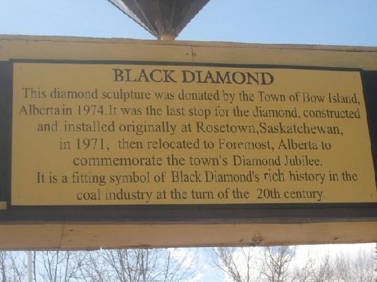 The Black Diamond at Black Diamond Alberta