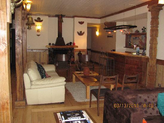 Casa Kalfu: sala de estar