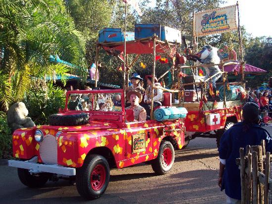 Disney's Animal Kingdom: Jamming Jungle Parade