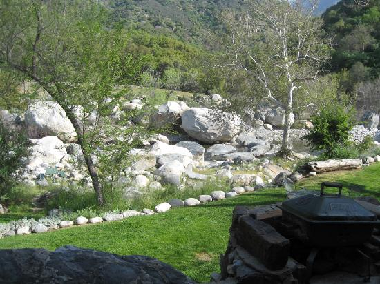 Sequoia Village Inn: View of the river from your back patio