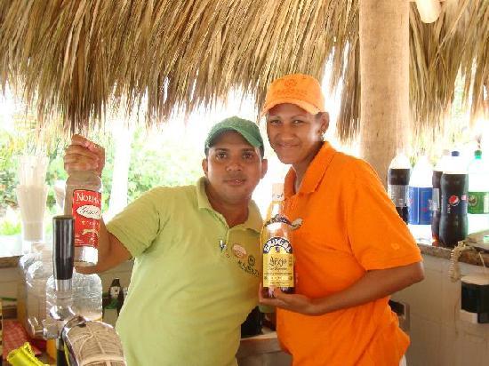Majestic Elegance Punta Cana: Emilio and Mirita, wonderful bartenders