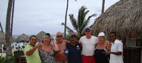 Majestic Elegance Punta Cana: Our group with Emilio Maxima and Felis