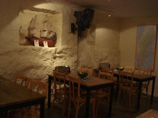 Hotel Tre Sma Rum : Breakfast room