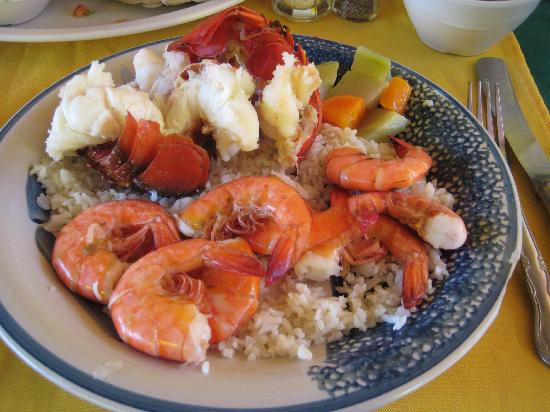 Maro's Shrimp House: The lobster and shrimp for $16.95