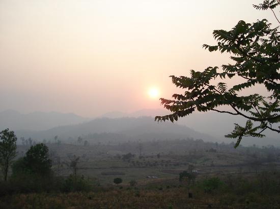 Pai, Thailand: summer sunset
