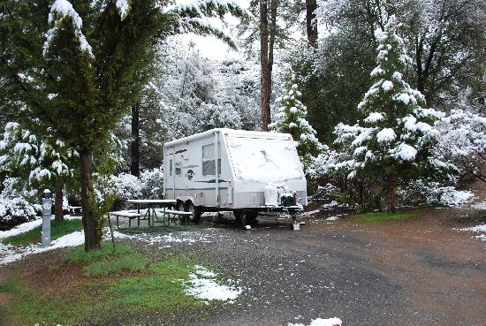 Yosemite Pines RV Resort and Family Lodging: a busy time of year???