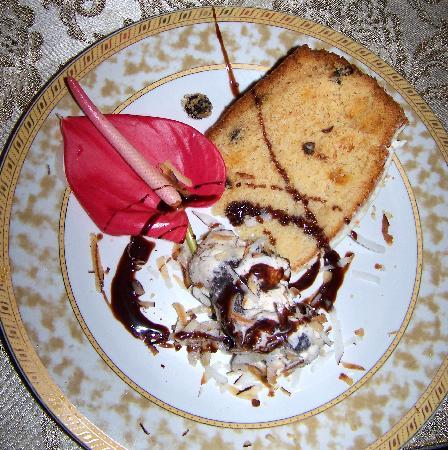 Crystals St Lucia: Rum Wedding Cake & Coconut Ice Cream