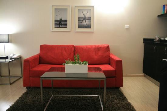 Melody Hotel   Tel Aviv - an Atlas Boutique Hotel: Comfy Sofa to relax on
