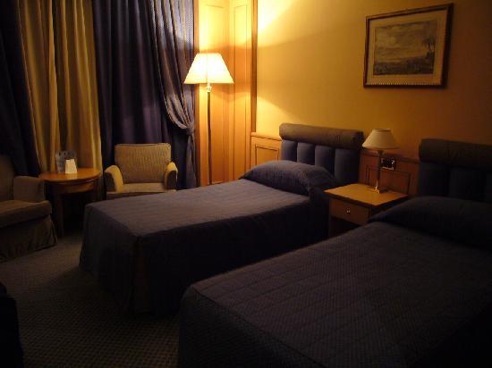 Grand Hotel Barone Di Sassj: 部屋内部