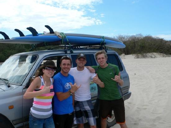 Point Break Surf School: A great day of surfing!
