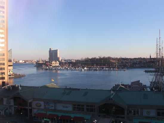 Renaissance Baltimore Harborplace Hotel: view