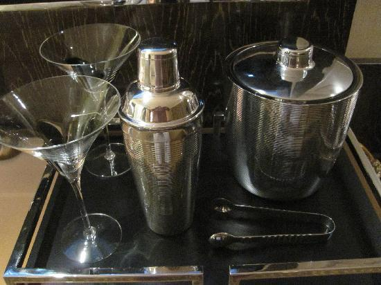 Mandarin Oriental, Las Vegas: In room Martini kit