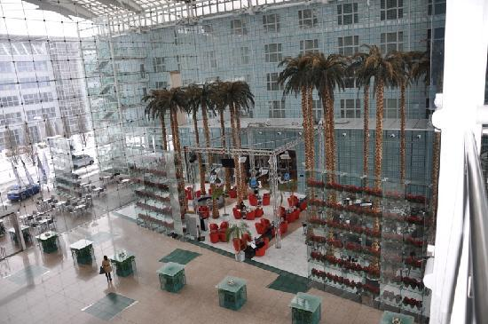 Hilton Munich Airport: lobby