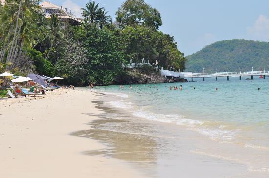 Kantary Bay, Phuket: Beach at Cape Panwa Hotel