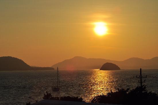 Kantary Bay, Phuket: The sunset