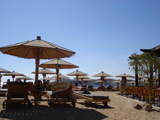 Sharm El Sheikh Marriott Resort: Strand vom Marriott