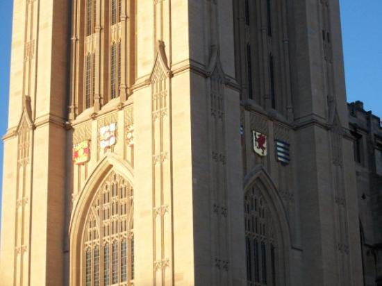 Bristol, UK: Detail of Wills Tower