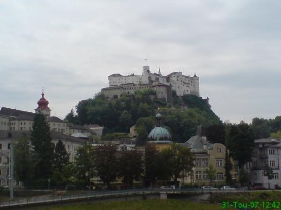 Bilde fra Salzburg Festning
