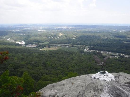View from Rock City