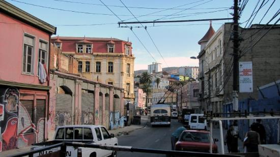 Valparaiso, Chile: Wandering.