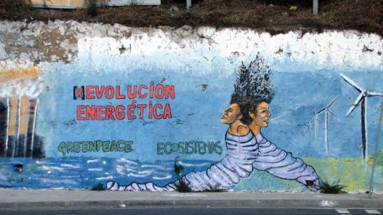 Valparaiso, Chile: Evolution Revolution.